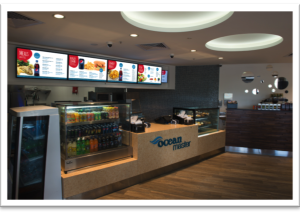 Interact Us Digital Signage solution for menu display